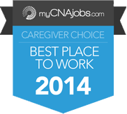 Caregivers voted Home Helpers a top place to work